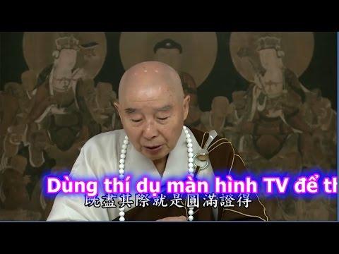 Dùng Thí Dụ Màn Hình TV Để Thấy Tự Tánh Vốn Là Định (Trích Đoạn)