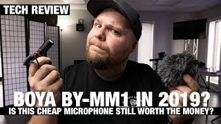 BOYA BY-MM1 2019 review! The best budget vlog mic!