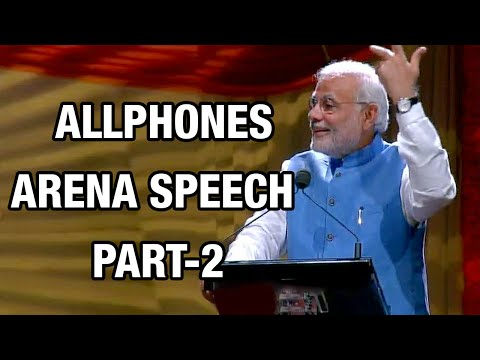 PM Modi Speech at Allphones Arena in Sydney, Australia - Part 2