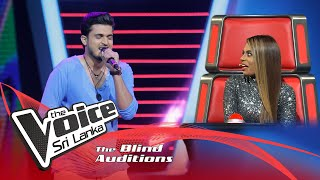 Sanjaya Perera - Adare Obagen Blind Auditions | The Voice Sri Lanka