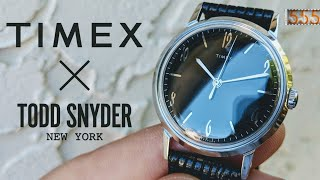 The Timex Marlin Blackout is Timex's Finest Watch | Unboxing by 555 Gear