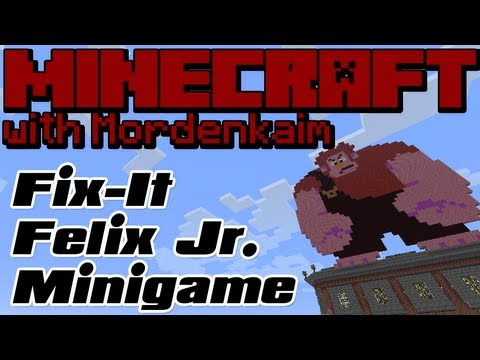 Minecraft Minigame :: Fix it Felix Jr. (Wreck It Ralph)