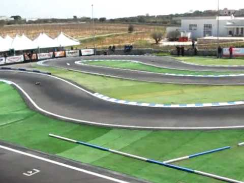 EFRA 1/8 pista RC european championship warm up 2010 semifinale B