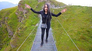 WORLDS MOST DANGEROUS BRIDGE !!! *do not try this*