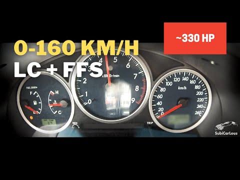 Subaru Impreza WRX STi MY05 0 60 0 100 0 160 km h with LC and FFS 0 60 mph 4.6 s