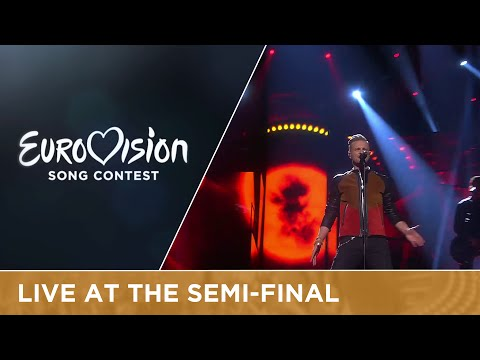 Nicky Byrne - Sunlight (Ireland) Live at Semi-Final 2 of the 2016 Eurovision Song Contest