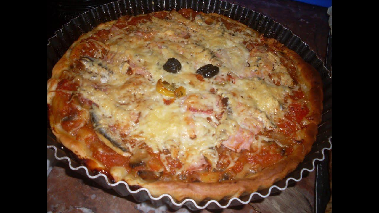 pizza maison comment faire une pizza