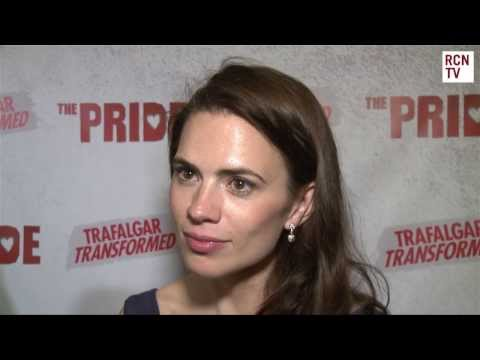 Captain America 2 The Winter Soldier Hayley Atwell Interview