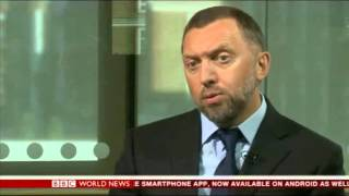 "Oleg Deripaska: ""Russian economy is under the preassure of oil and gas"