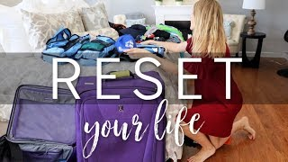 GET YOUR LIFE BACK 💙 CLEAN WITH ME & RESET AFTER VACATION