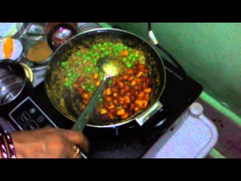 Matar paneer recipe part4