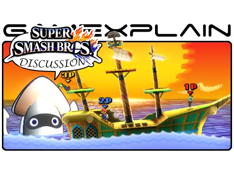 Super Smash Bros: Paper Mario Stage Discussion - Thoughts & Analysis (Wii U & 3DS)