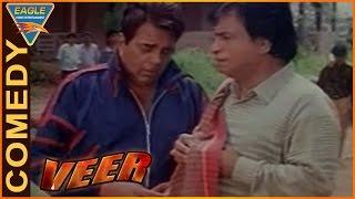 Veer Movie    Dharmendra, Kader Khan Act to Get Money Comedy    Dharmendra    Eagle Hindi Movies