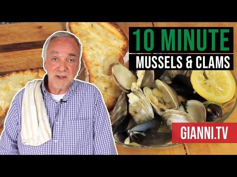 10 Minute Mussels & Clams - Italian Recipe