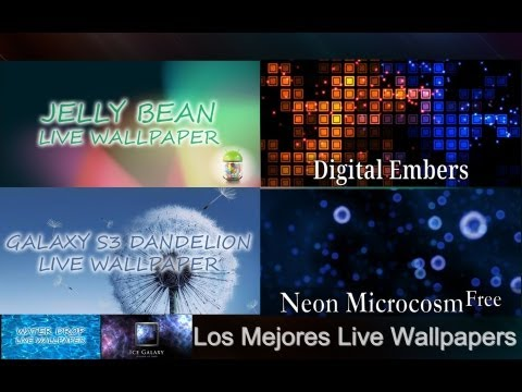 Los Mejores Live Wallpaper Para Android (1 Parte) - Android Apps Team
