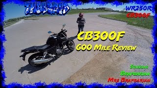 CB300F 600 Mile Review - Dual Vlog