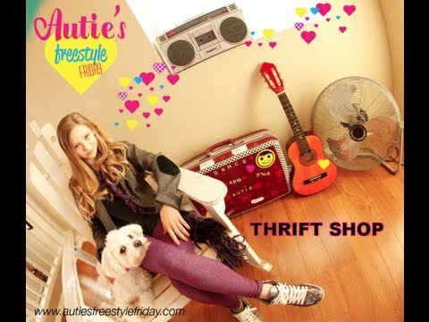 autumn Miller  Thrift Shop - Macklemore & Ryan Lewis Ft Wanz video
