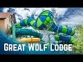 ALL WATER SLIDES At Great Wolf Lodge Poconos, Pennsylvania