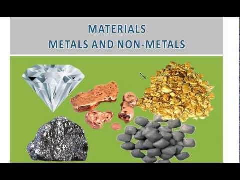 Materials-Metals and Non-metals videos for CBSE grade 8 ...