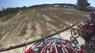 CRF150R First race southfork mx moto 1