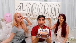 4,000,000 SUBSCRIBER SURPRISE !!!