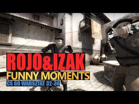 Funny Moments IZAK & ROJO w CS:GO - WARSZTAT #10