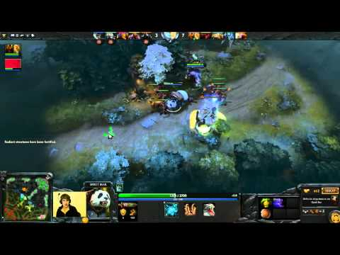 Dota 2 Purge plays offlane Lone Druid
