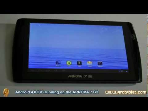 Arnova 7 G2 running Android 4.0 ICS