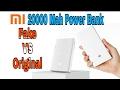 MiXiaomi 20000Mah Power Bank Fake Vs Original ??? How To identify - 【Hindi】