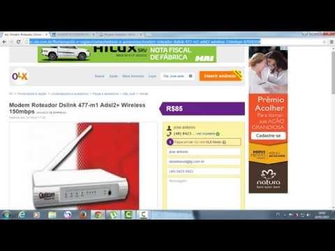 COMPRE MODEM ROTEADOR DSLINK 477-M1 ADSL2+ WIRELESS 150MBPS