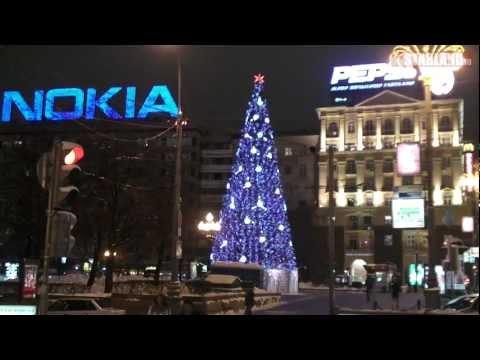 Все новогодние ёлки Москвы 2012
