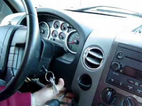 2004 - 2008 Ford F-150 Cluster removal / Odometer Lamp change.