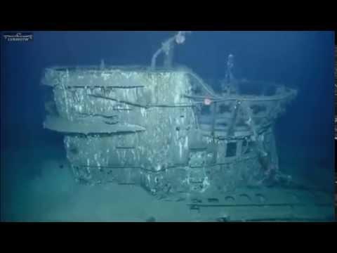"""Exploring the Wreck Of German U Boat U-166"" Nautilus Live July 6,2014"