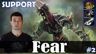 Fear - Undying Roaming | SUPPORT | Dota 2 Pro MMR Gameplay #2