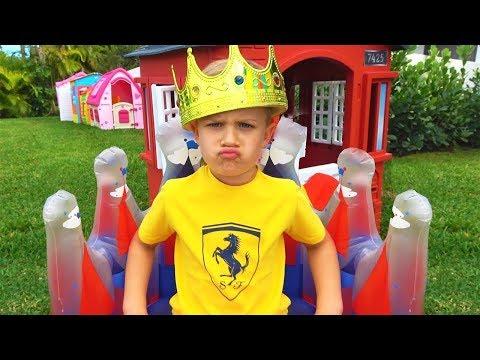 रोमा राजा बनना चाहता है बच्चों के लिए मनोरंजक वीडियो