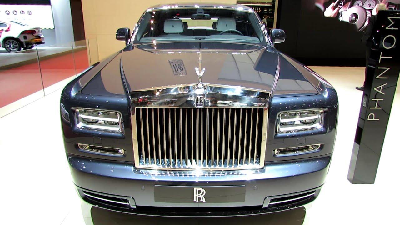 2014 rollsroyce phantom exterior and interior