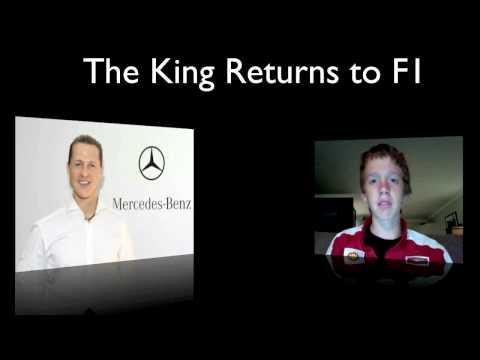 Michael Schumacher Mercedes GP F1 ComeBack 2010 CONFIRMED 23/12/09