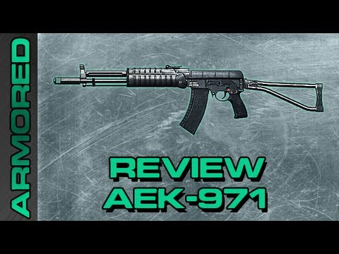 Review AEK 971 O Poder Russo