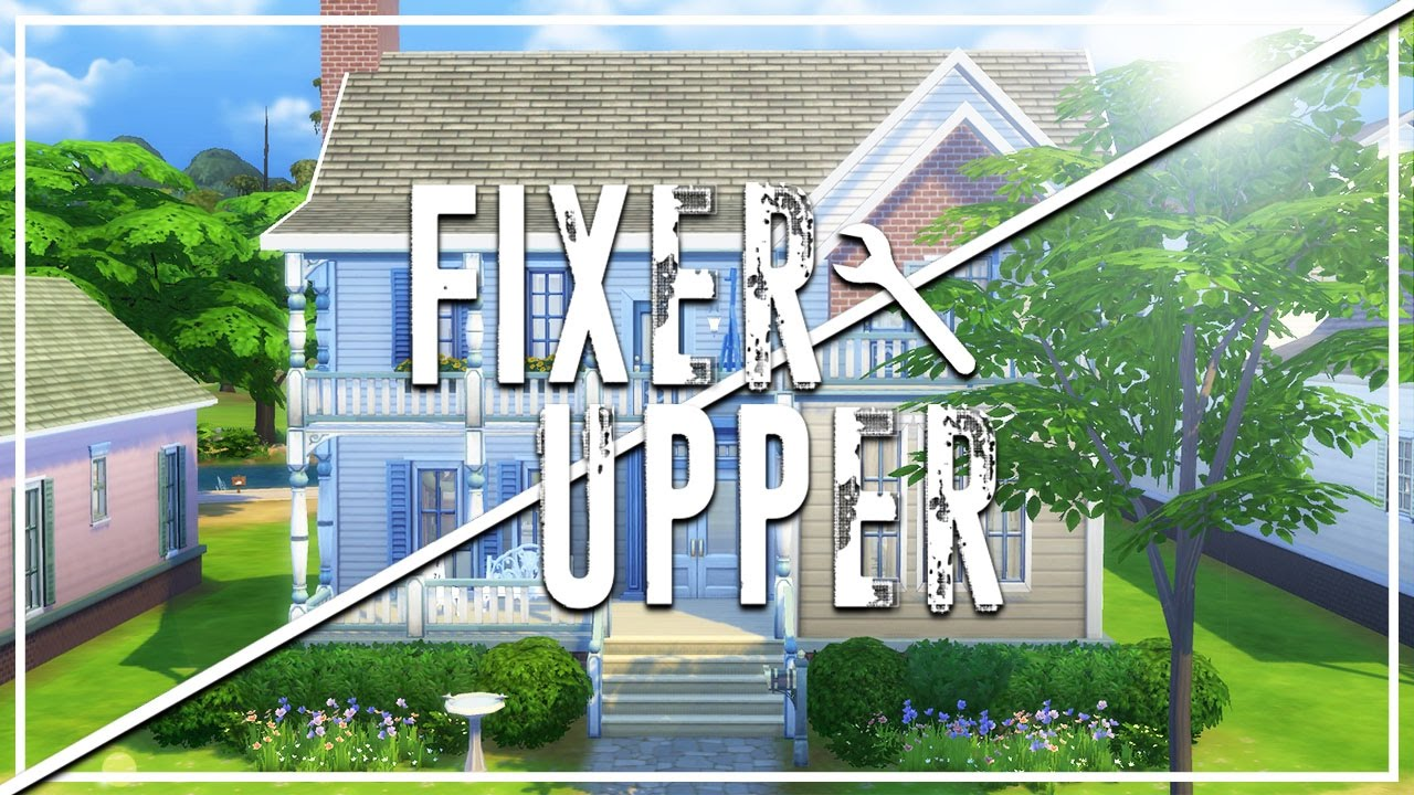 The Sims 4: Fixer Upper - Home Renovation | Pancake House