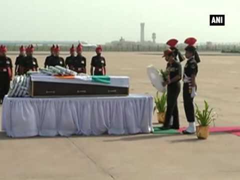 Army Chief pays tribute to Kupwara encounter braveheart- ANI News