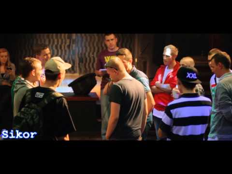 SpinDaMajk#1 ( Walka 1 - 09.10.2014) Czarne Mleko Rep. vs Sikor