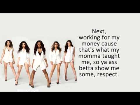 Boss - Fifth Harmony Lyrics video