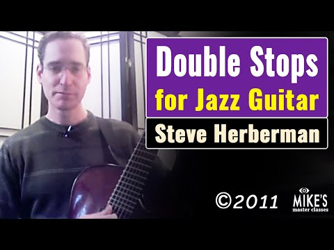 Steve Herberman - Double Stops for Jazz Guitar