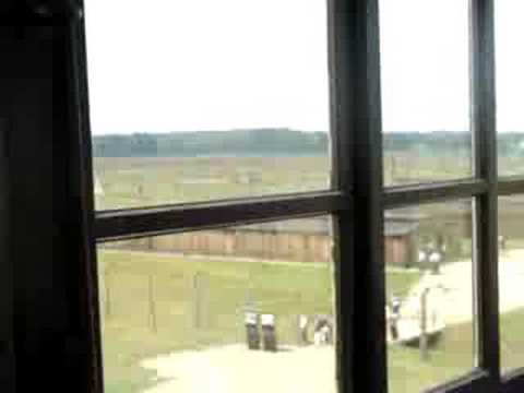 Auschwitz II (Birkenau) - View from the main guard post