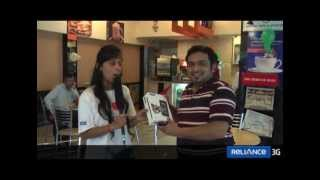 Reliance Mobile - Tweet-a-Tab - Indore Winner