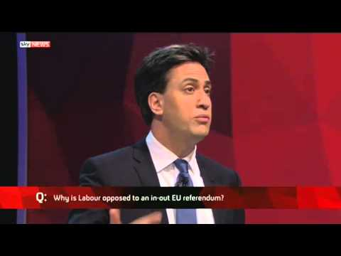 Q: Why is Labour opposed to in-out EU referendum?