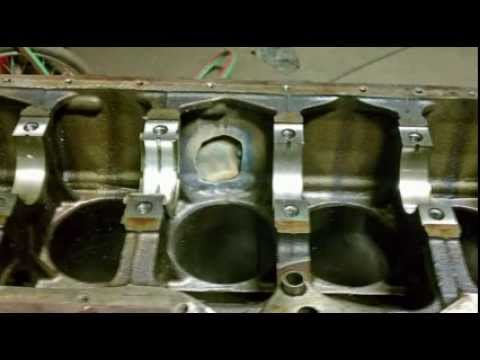 Engine Block Welding MuggyWeld 77 Cast Iron Electrode - YouTube