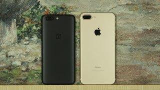 OnePlus 5 vs iPhone 7 Plus Full Comparison