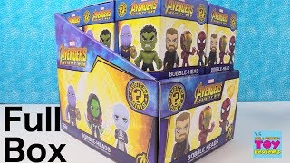 Marvel Avengers Infinity War Mystery Minis Funko Figure Unboxing Review | PSToyReviews