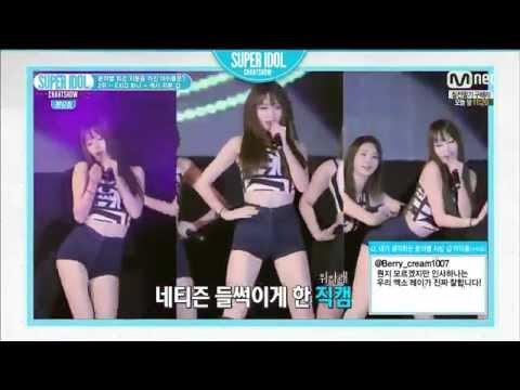 150130 Super idol chart show EXID 하니 TOP2